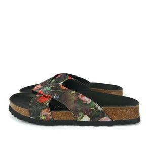 NEW Birkenstock Papillio Daytona Floral Sandals 9
